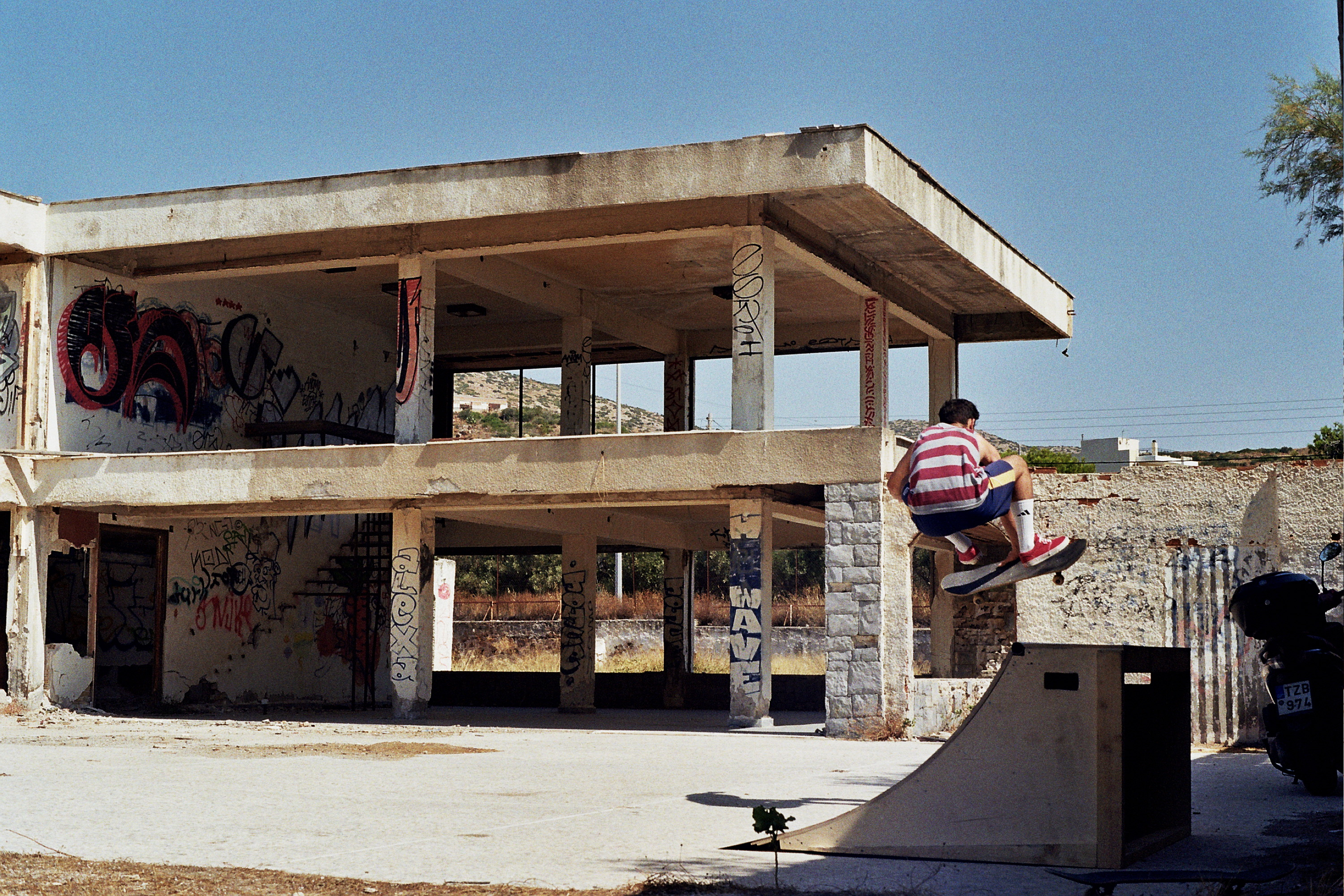 how a charity in athens is using skateboarding to help refugees i d