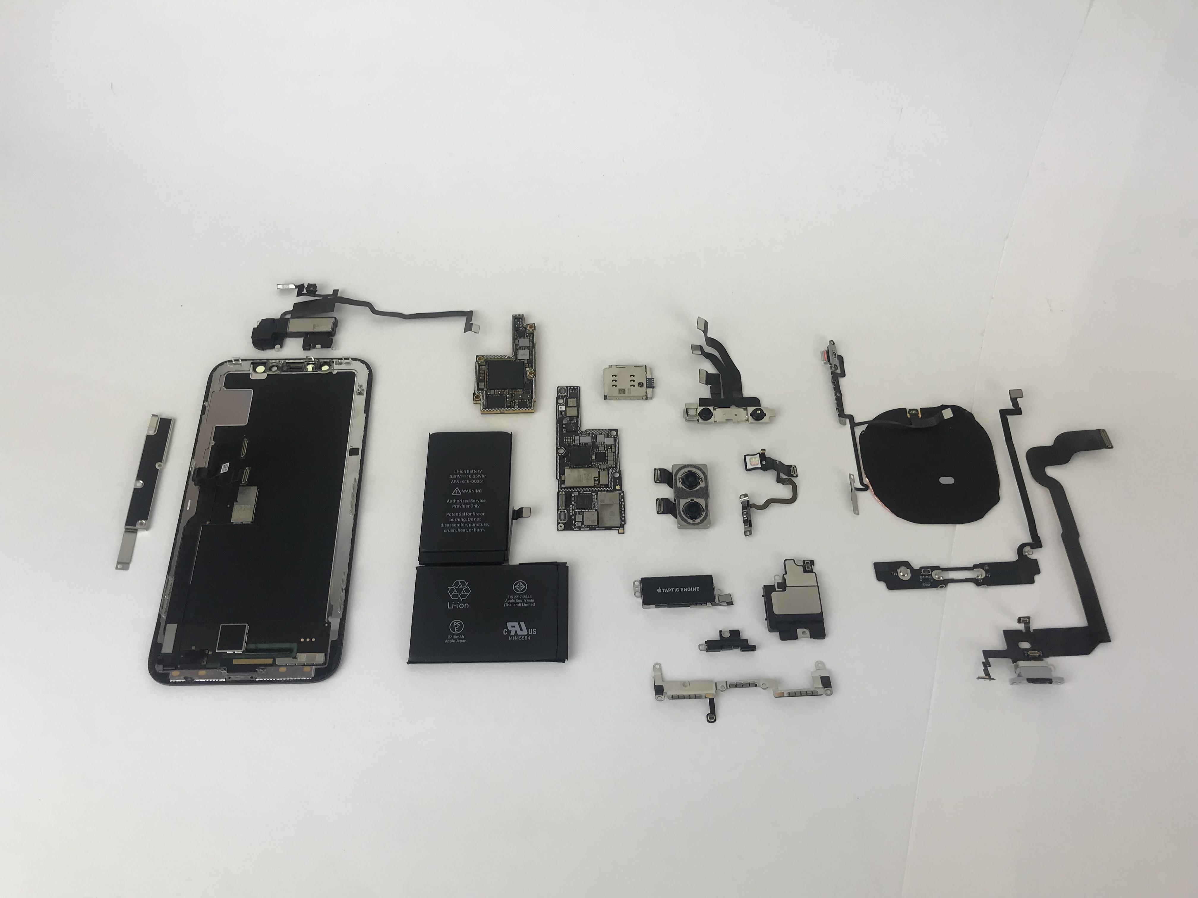 fix broken back glass iphone x