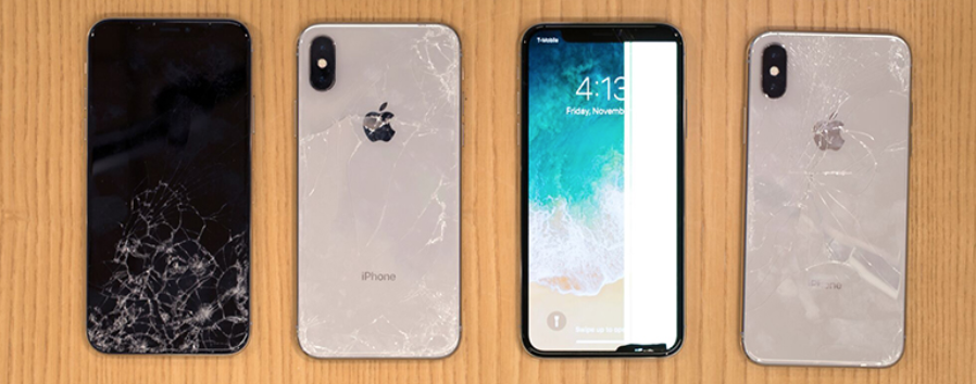 on sale eff27 266e7 The iPhone X's Back Glass Is Fragile and an Expensive Nightmare to ...