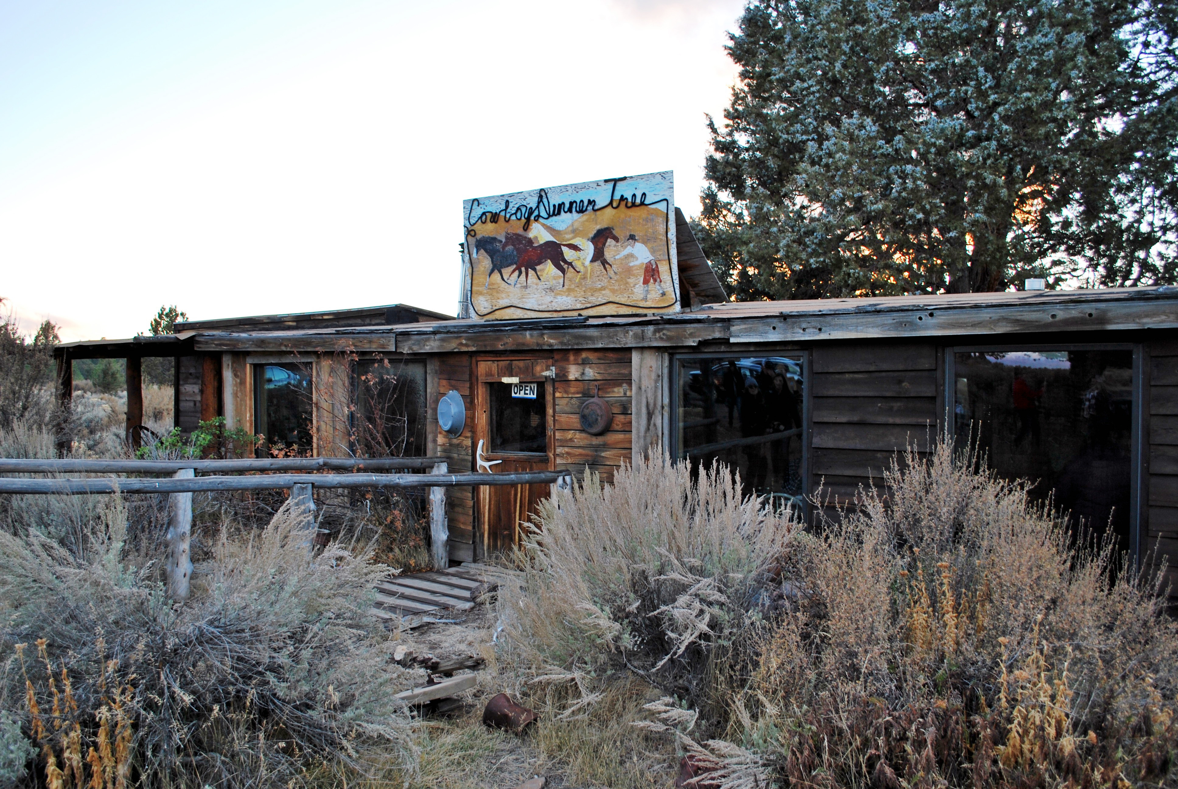 Eat Cowboy Steaks At This 19th Century Desert Shack