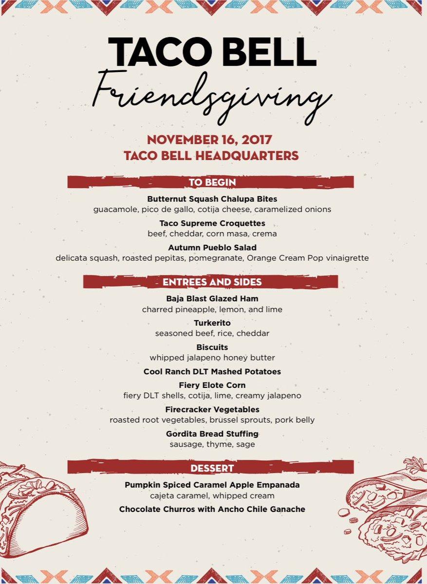 Taco Bell\'s Friendsgiving Menu Includes Mountain Dew-Glazed Ham ...