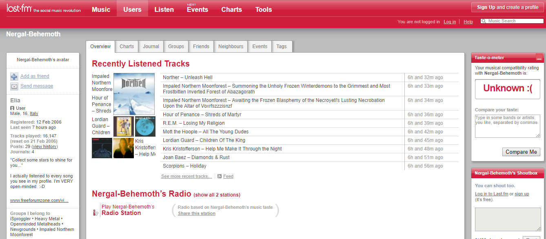 Rock FM dating offerta codice
