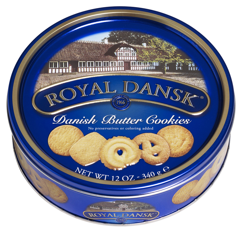 Danish cookie tin