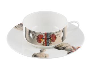 Anatomica Kaffeetassen-Set mit Untersetzer von The New English