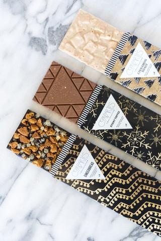 Schokoladentafeln von Compartés