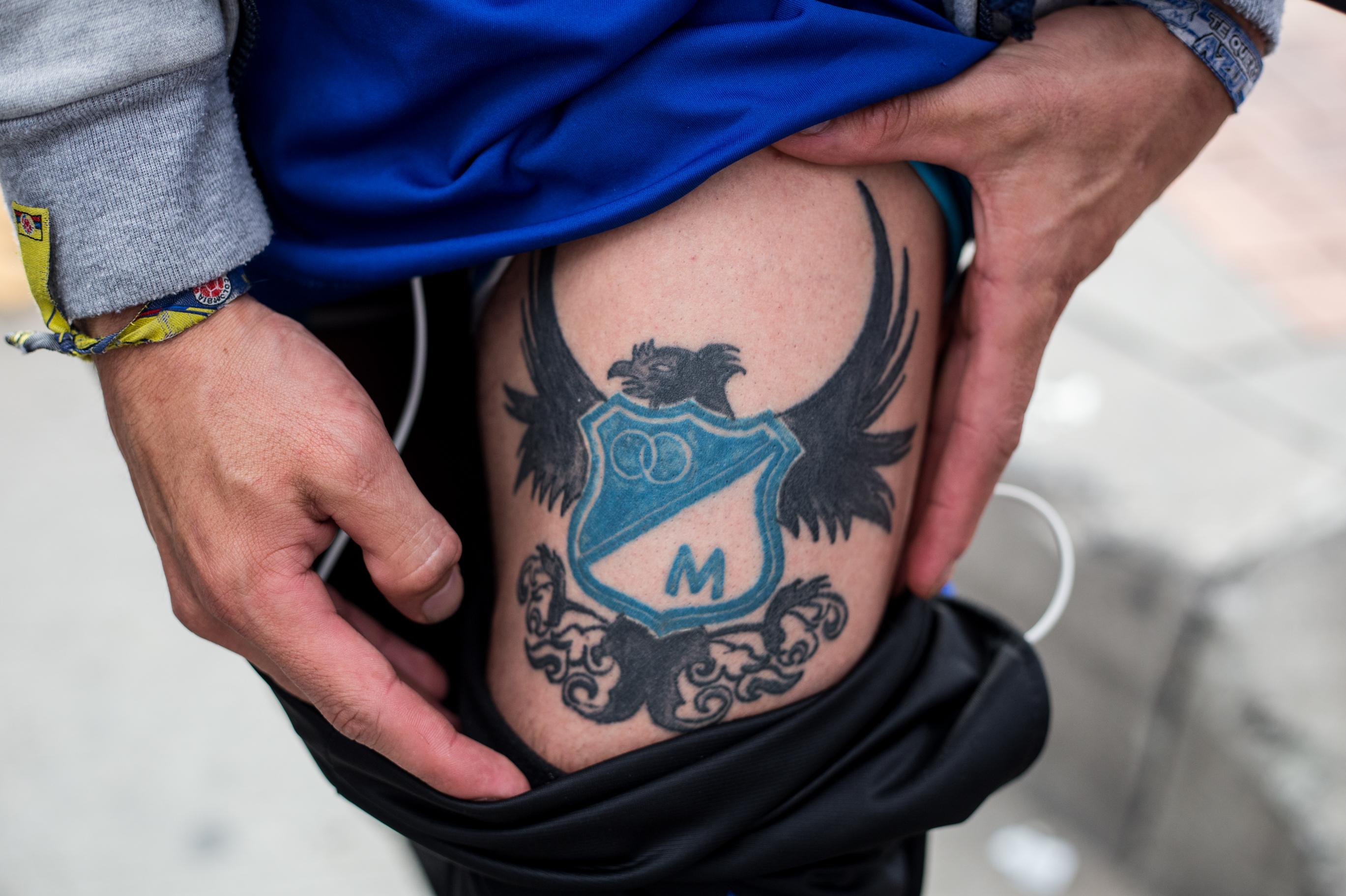 Tatuajes De Los Hinchas Mas Comprometidos En La Victoria Azul En El