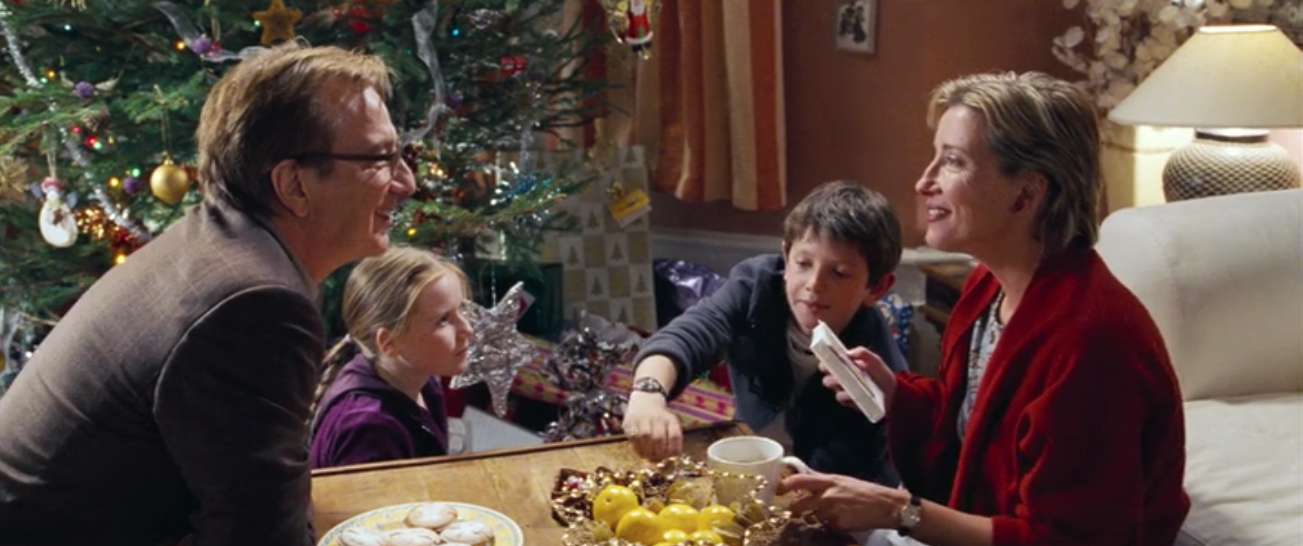 One Christmas Eve.Love Actually Has The Worst Christmas Food Of Any Holiday