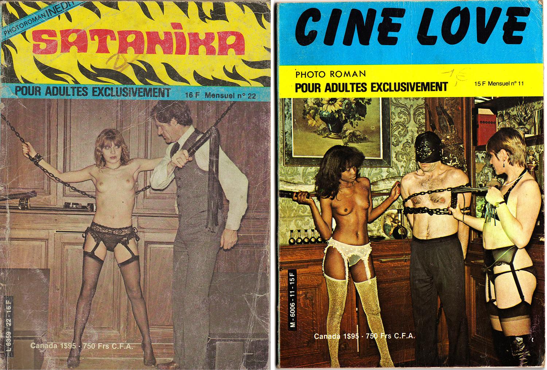 Magazines porno adultes