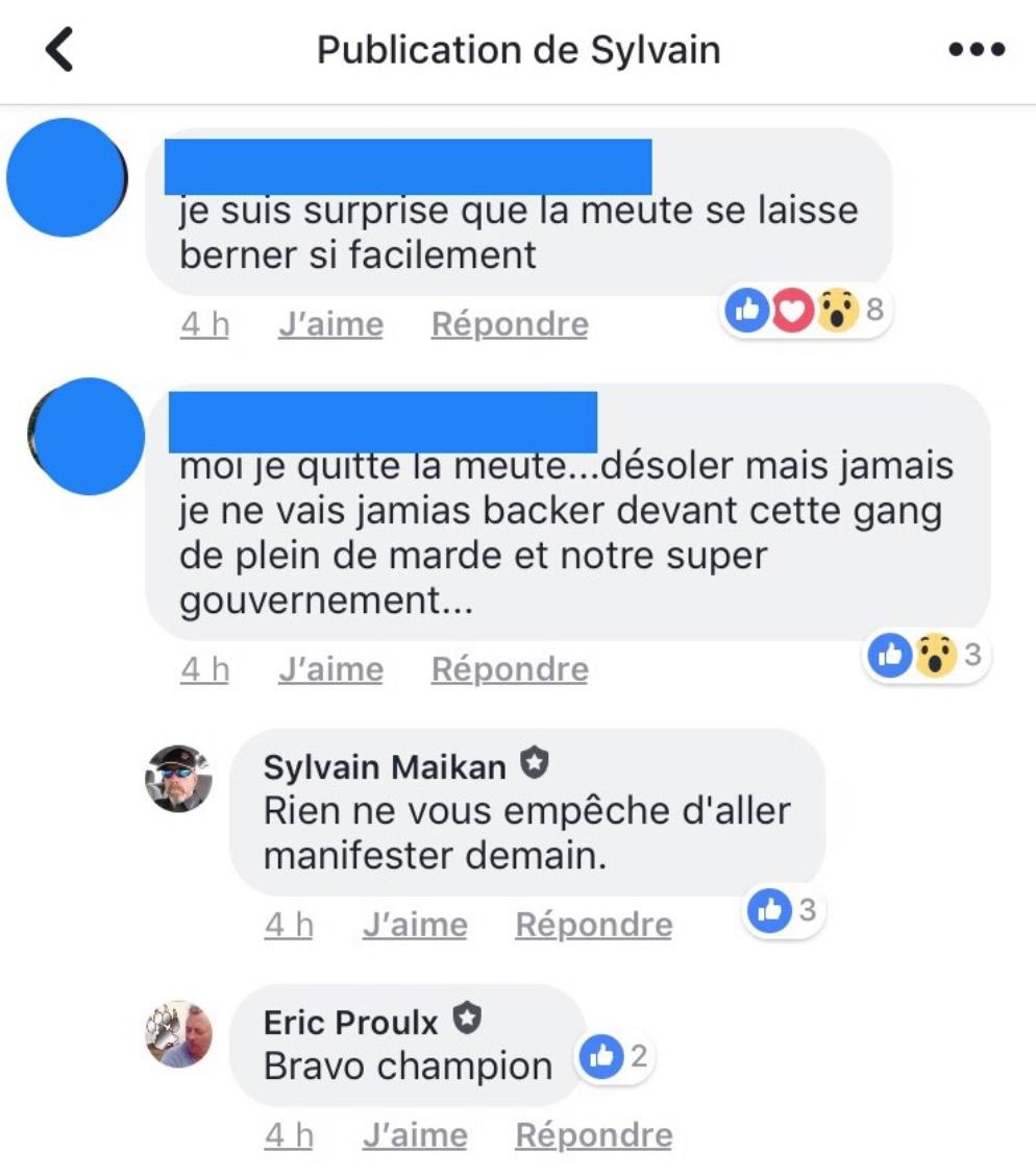 Un temps des Fêtes mouvementé pour La Meute - VICE Québec