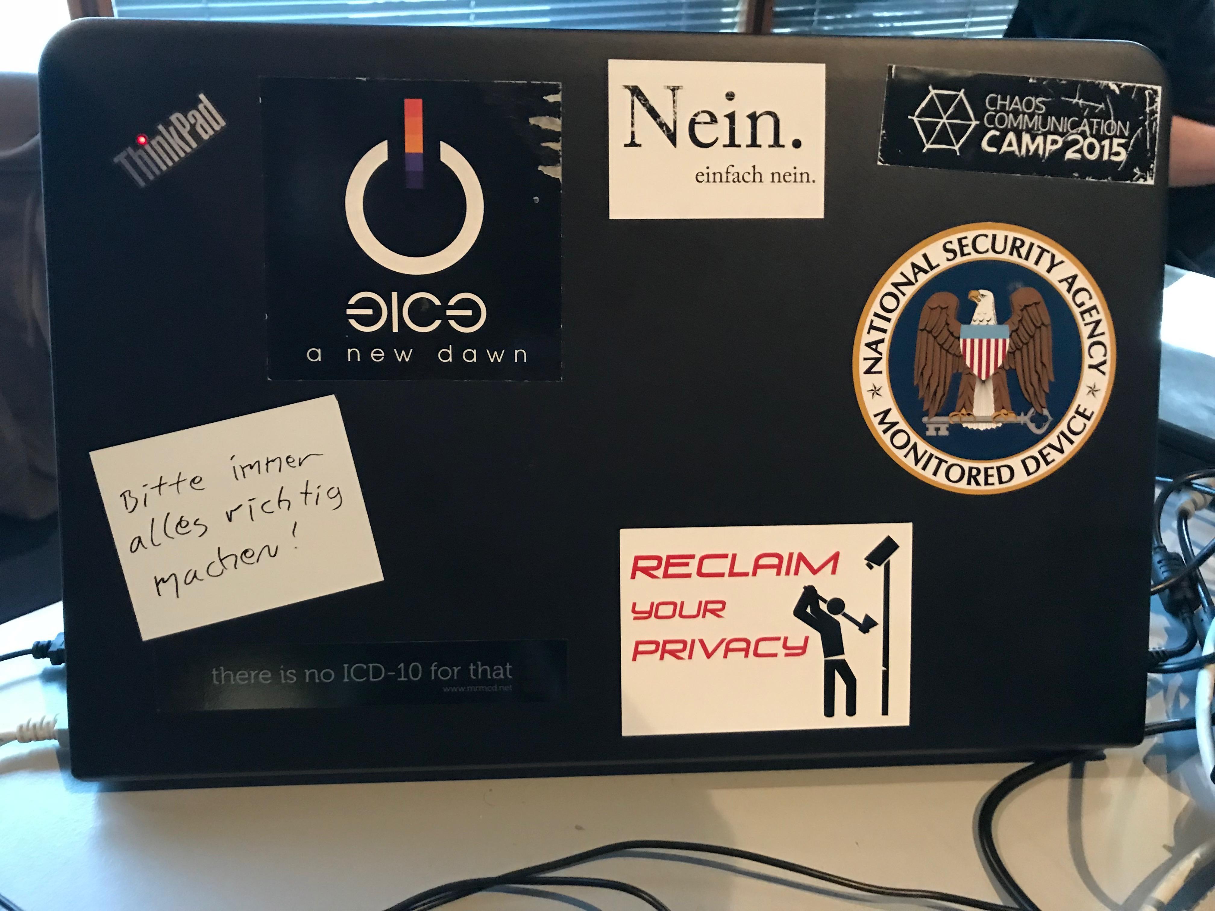 Was Sich Hacker So Auf Die Rechner Kleben Die Besten