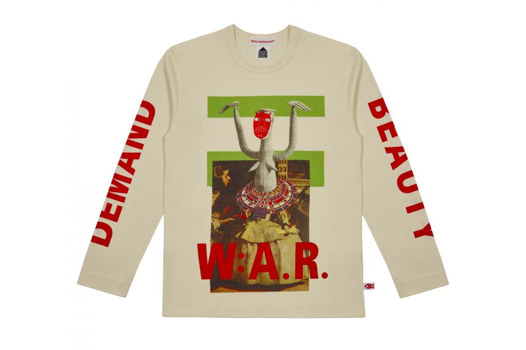 3c62f5cd4e49 A t-shirt from Walter Van Beirendonck s collaboration with Comme des  Garçons.