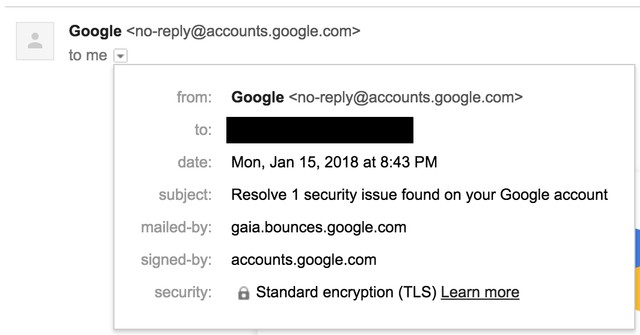 Google's Confusing Gmail Security Alert Looks Exactly Like a