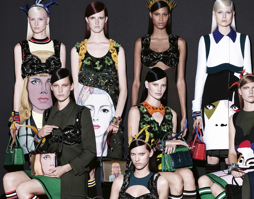 8640a538575 Photography Steven Meisel. Apocalyptic Tropics from spring summer 14