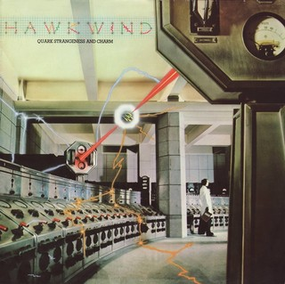 hawkwind quark strangeness charme cover art hipgnosis