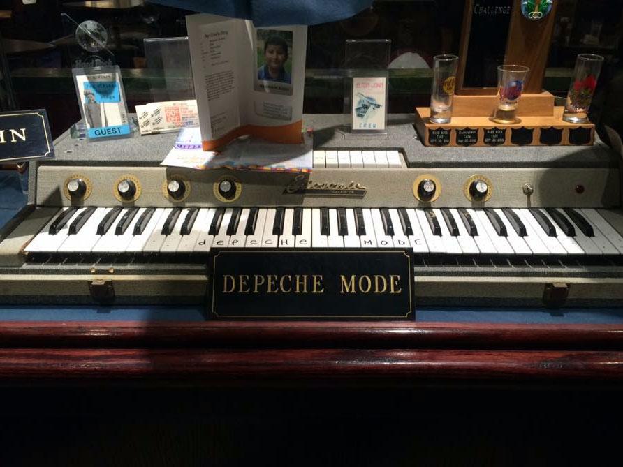 Image result for depeche mode keyboard niagara falls hard rock cafe