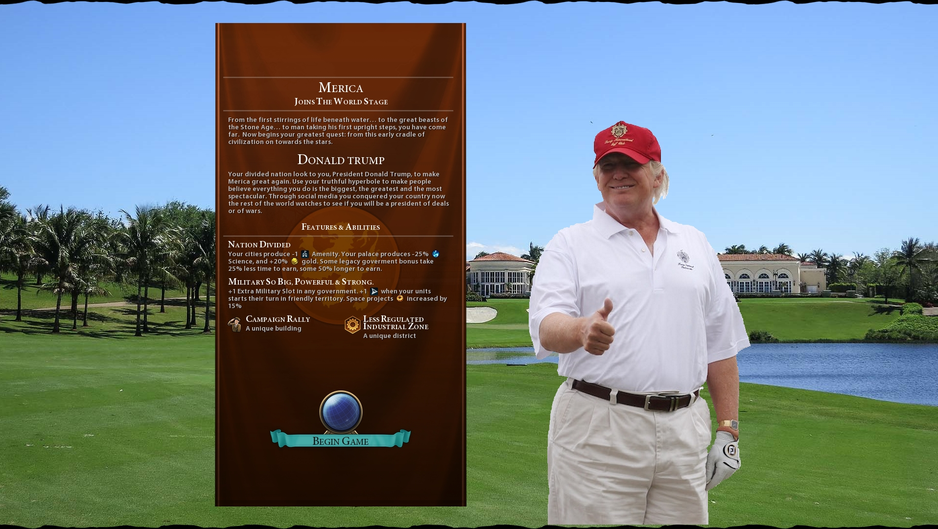 This 'Civ VI' Mod is Translating Trump's Real-Life Policies into the