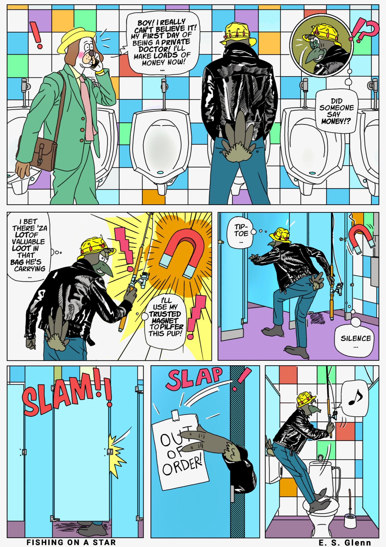 Fishing on a Star,' Today's Comic by Everett Glenn - VICE