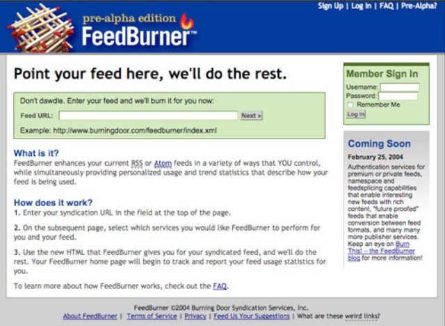 Google's Forgotten Service: How FeedBurner Became a Zombie