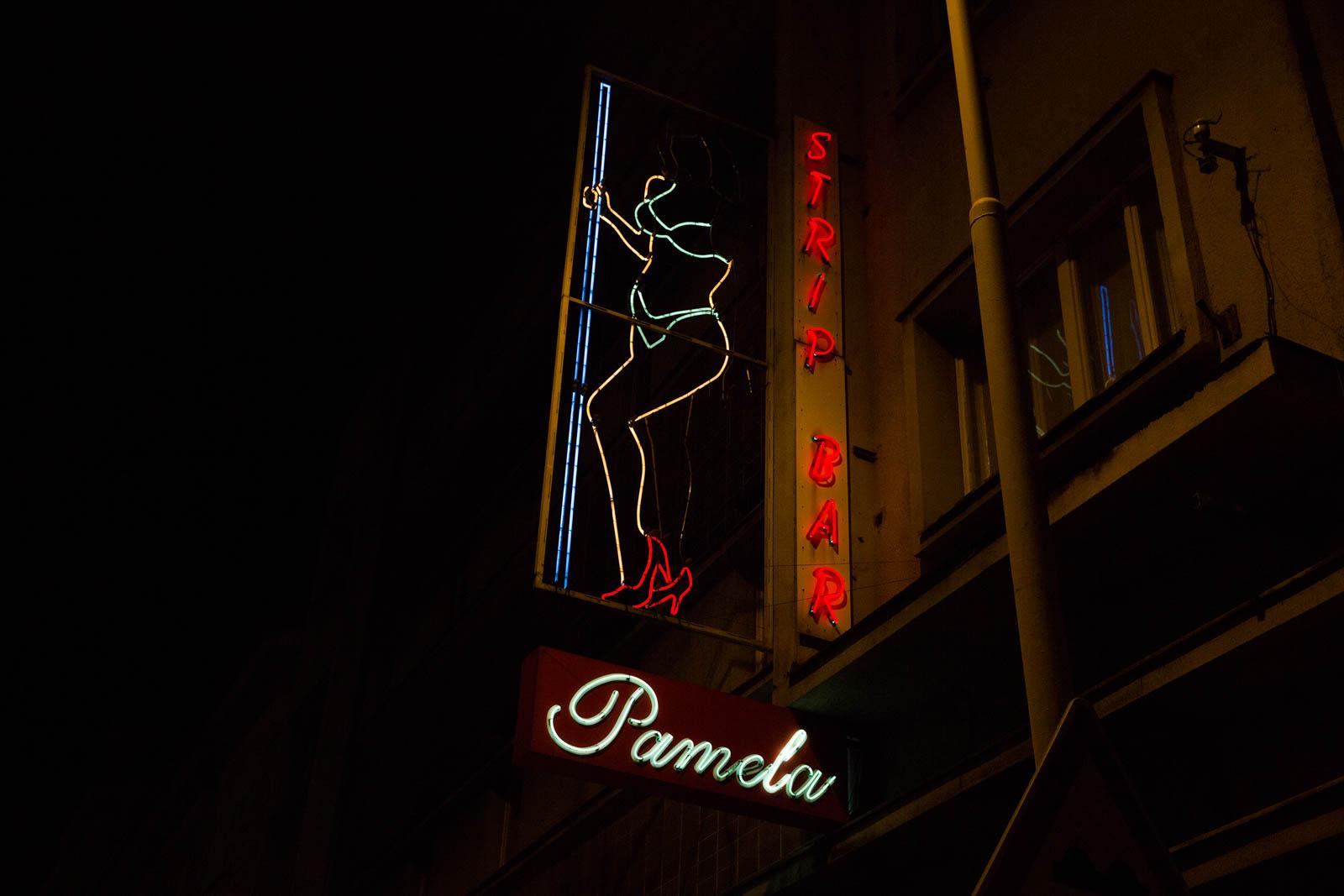 strip bar plzen