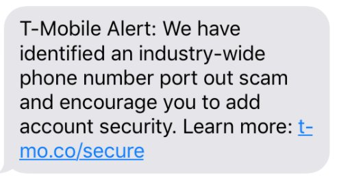 T-Mobile Is Sending a Mass Text Warning of 'Industry-Wide' Phone
