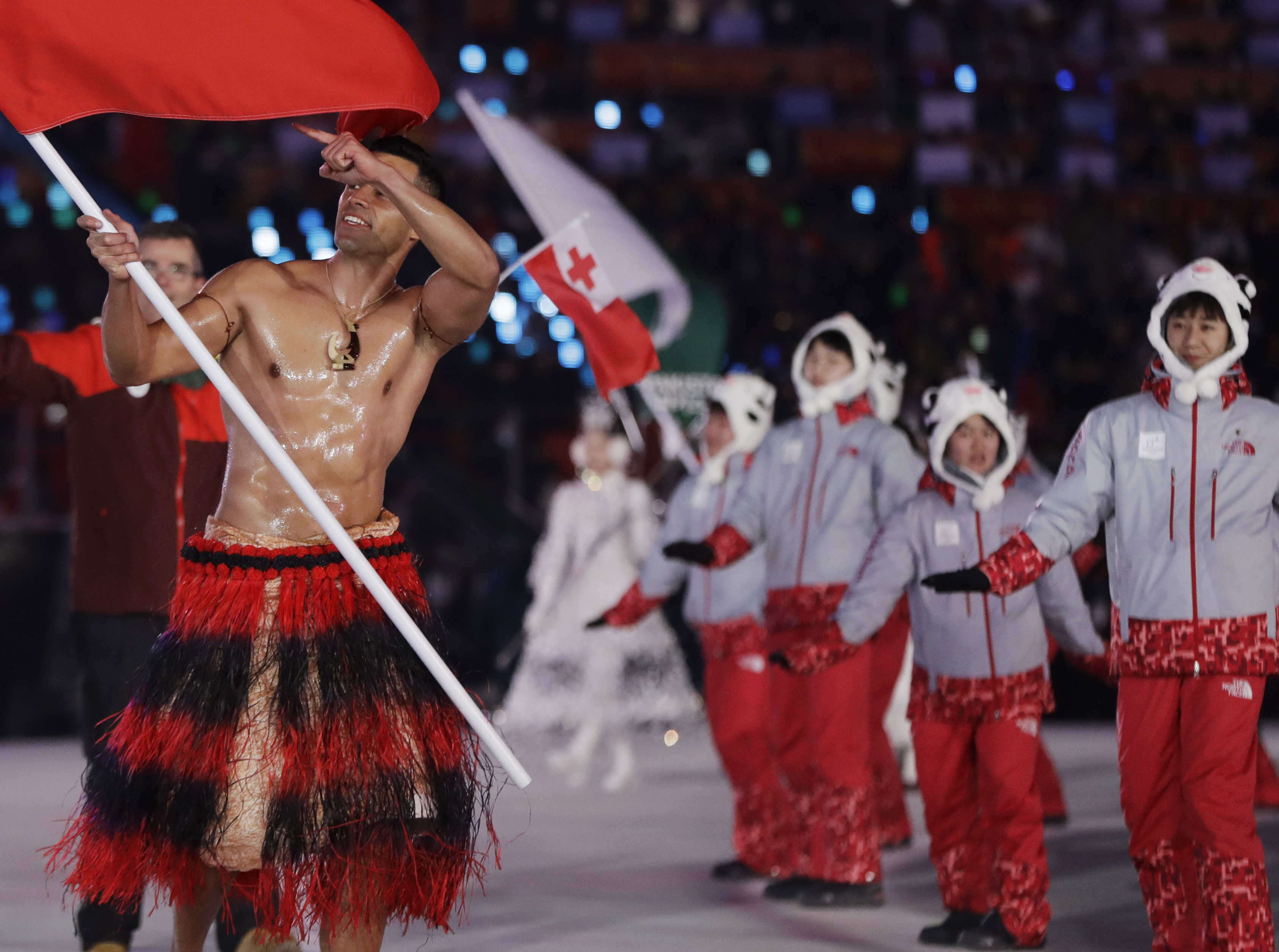 Tonga Winter Olympics 2020.Someone Give That Glistening Tongan Skier A Gold Medal