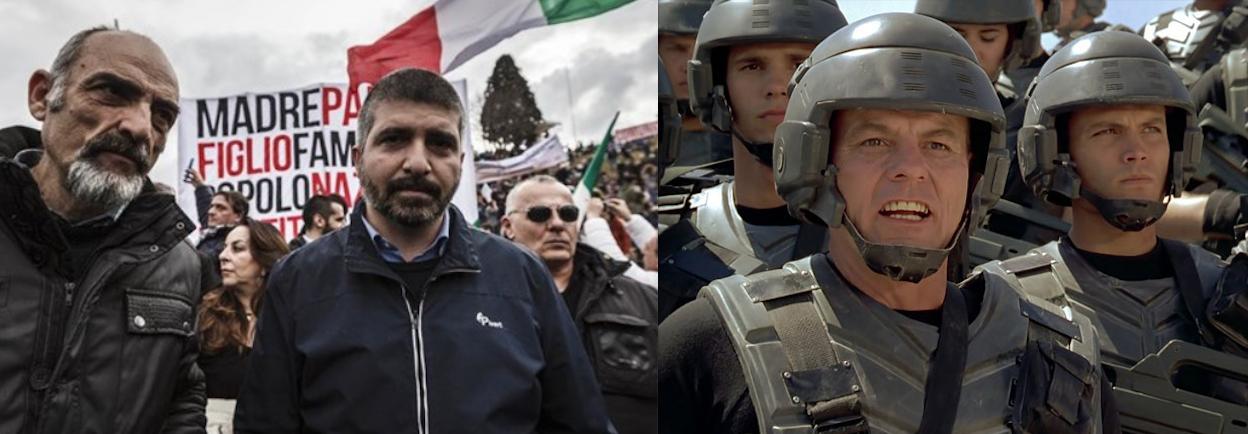Libere associazioni tra i personaggi del mondo sci fi e i for Gruppi politici italiani