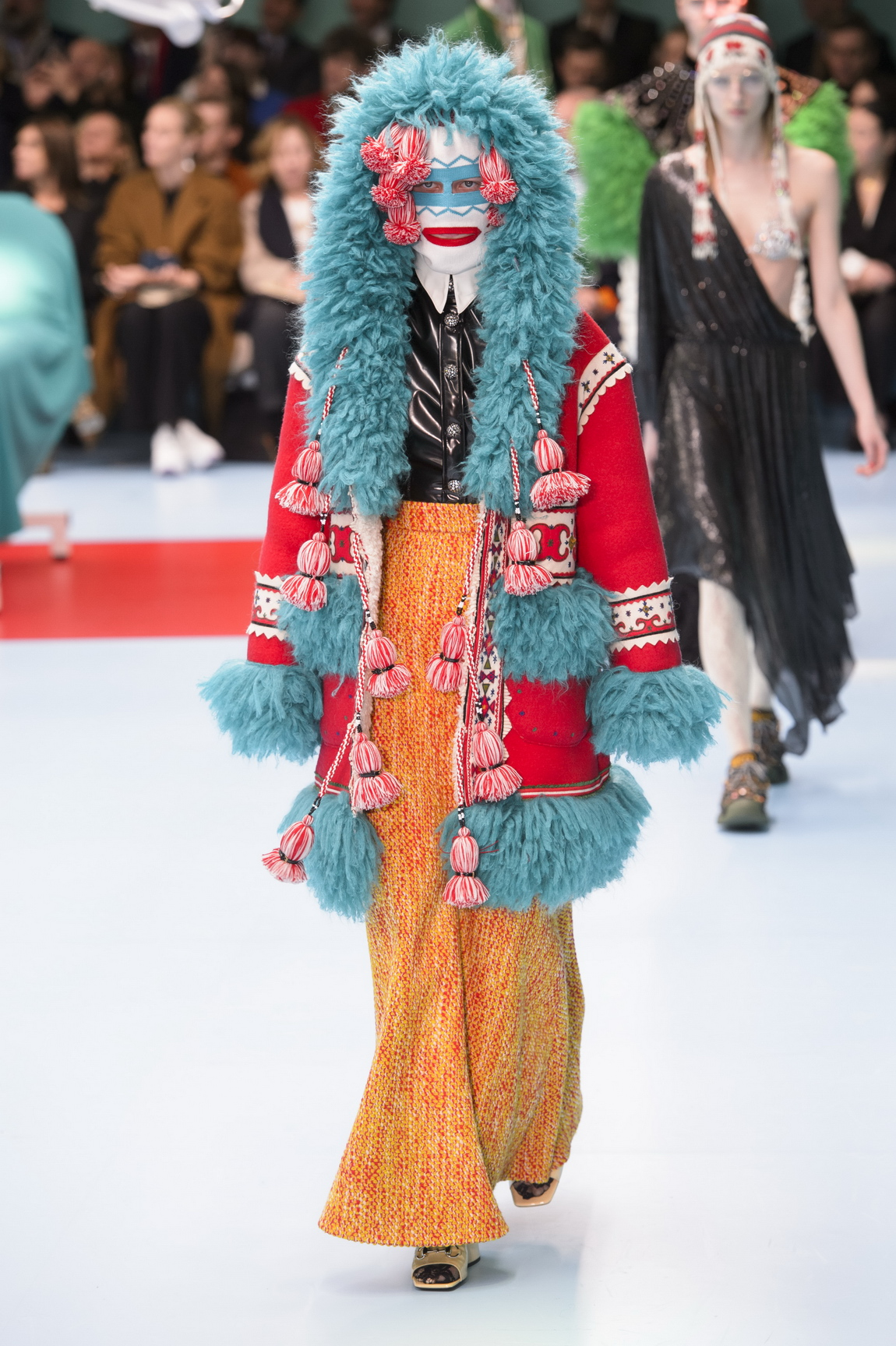 ec232825299 ... the Gucci autumn winter 18 message was  be who you want to be. Where  that means wearing clashing prints