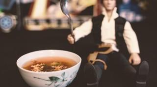 Scharfe Gargon-Suppe