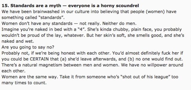 The Red Pill's 'How to Get Laid Like a Warlord' Advice