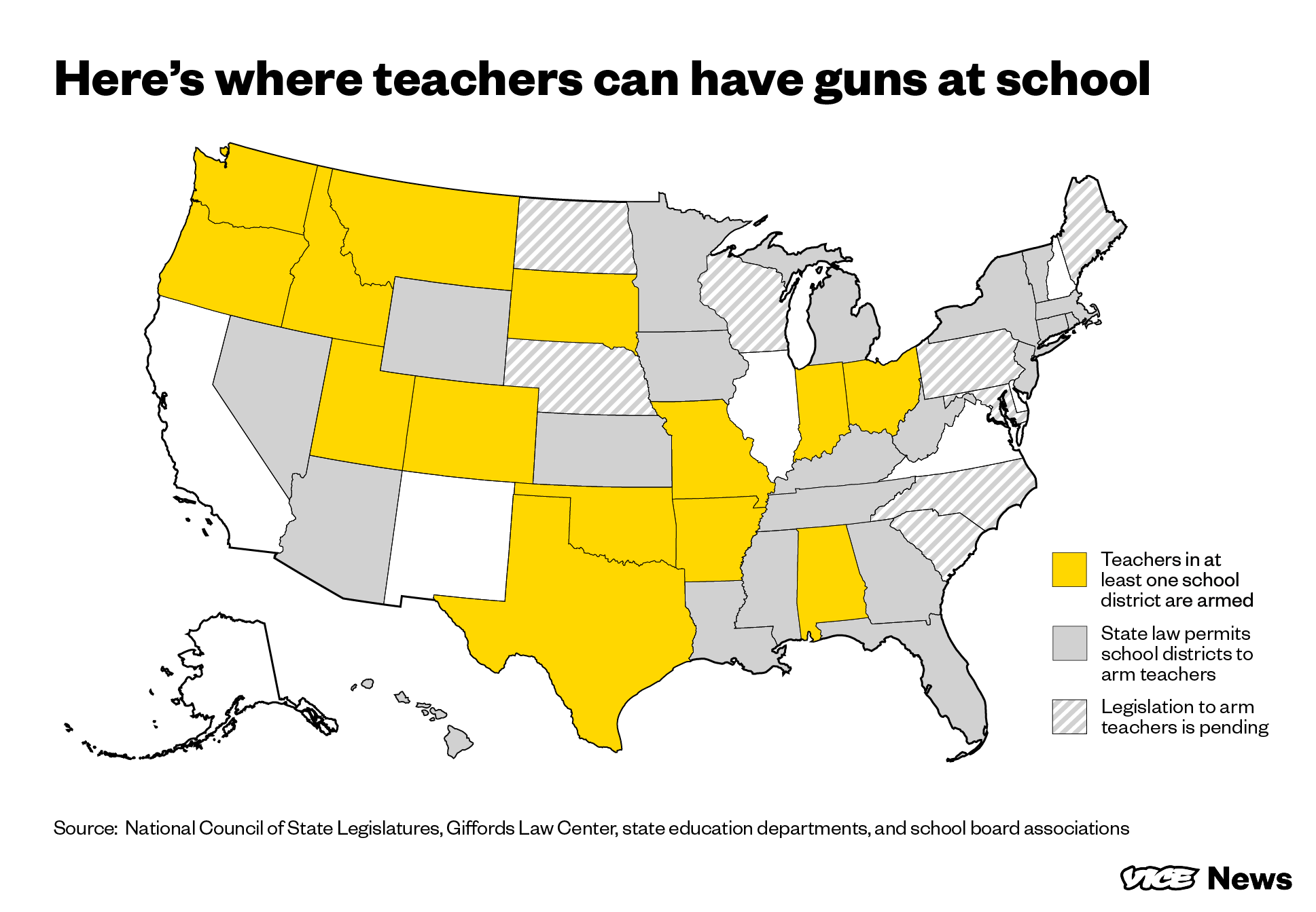 Here S All The States Where Teachers Already Carry Guns In The