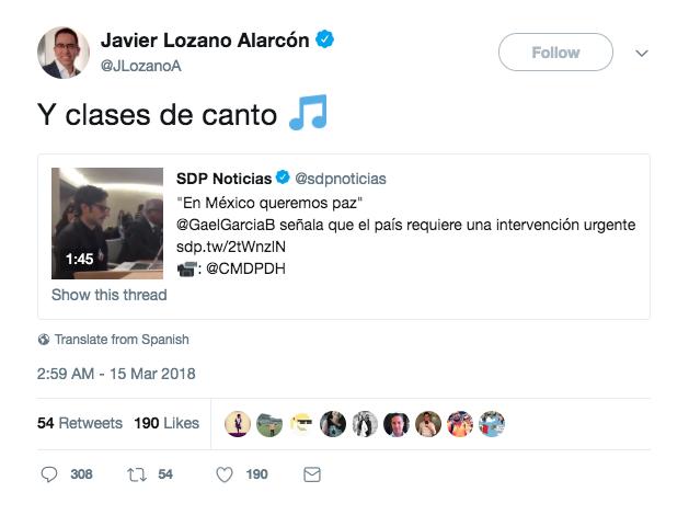 Vocero de Meade se mofa de Gael por tocar tema ante la ONU de los crímenes en México