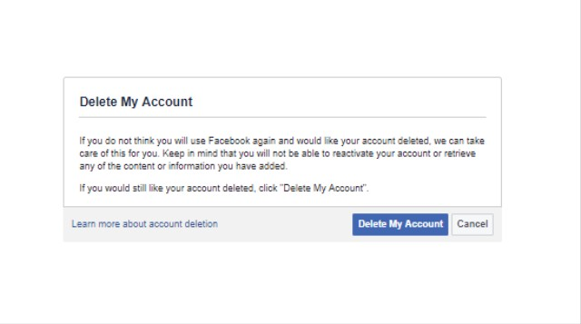 How to Delete Your Facebook Account - VICE