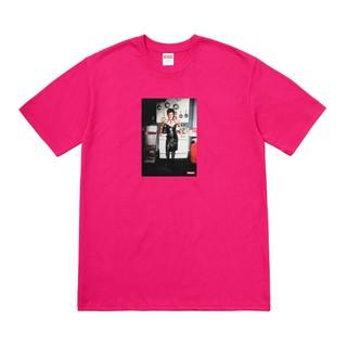 Pink Nan Goldin Supreme tshirt