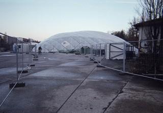 Der Obdachlose Kaspar hat die Notunterkunft der Berliner Stadtmission fotografiert