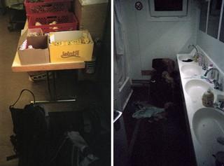 In den Notunterkünften können Obdachlose im Winter im Warmen schlafen
