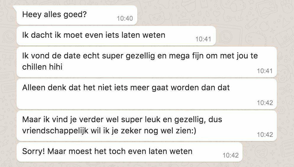 Hoe moet je bericht een meisje op een dating site