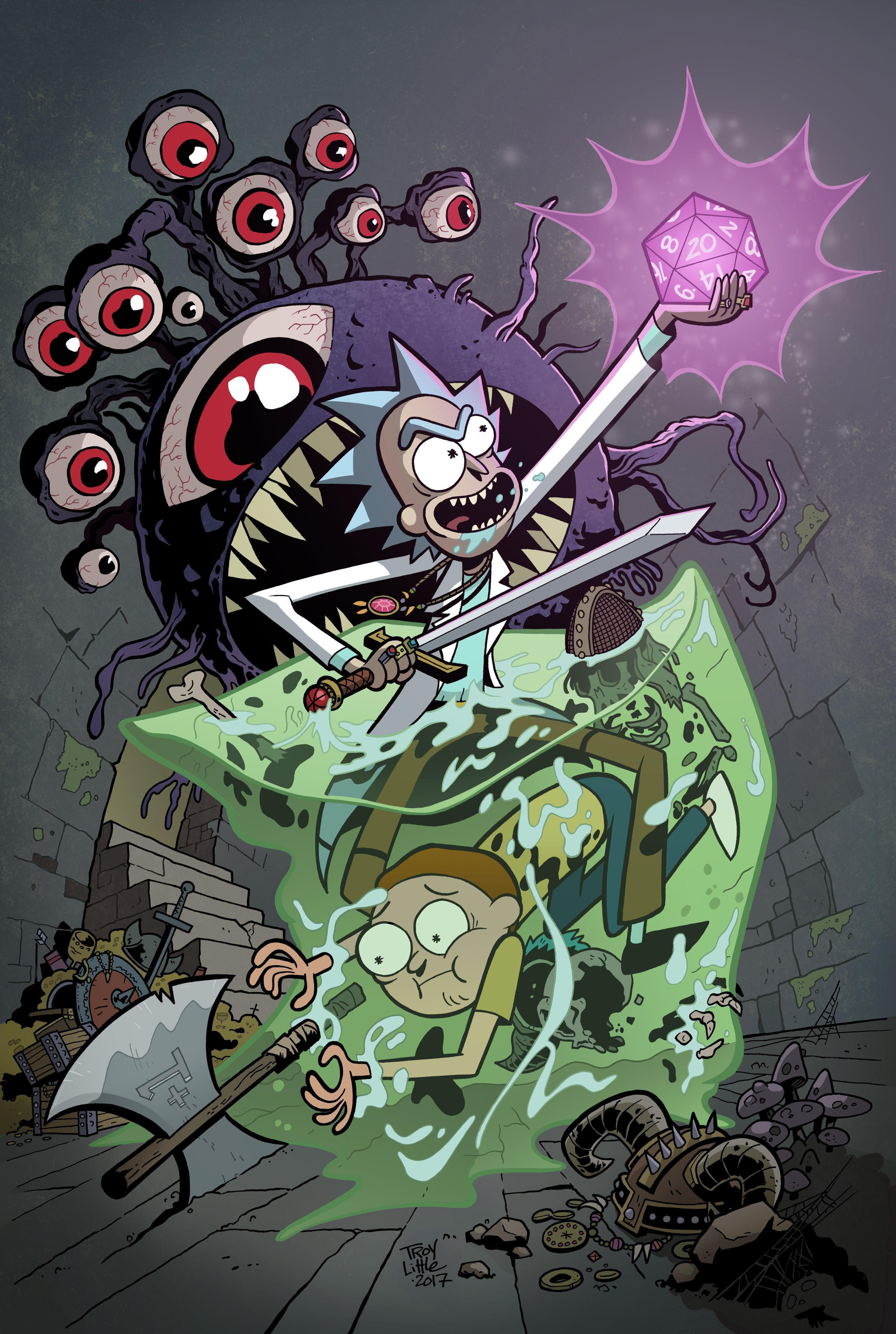 Rick and Morty Are Going on a 'Dungeons & Dragons' Adventure - VICE