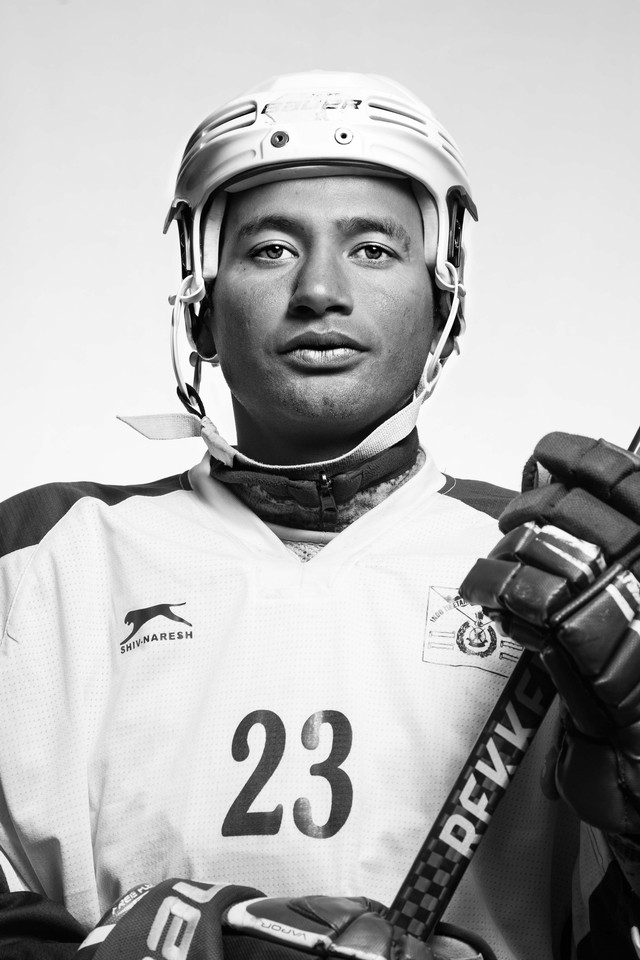 Up Close And Personal In The Himalayas With The Indian Ice Hockey