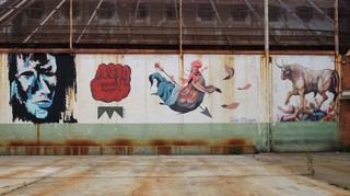 grafitis la modelo barcelona libertad de expresión
