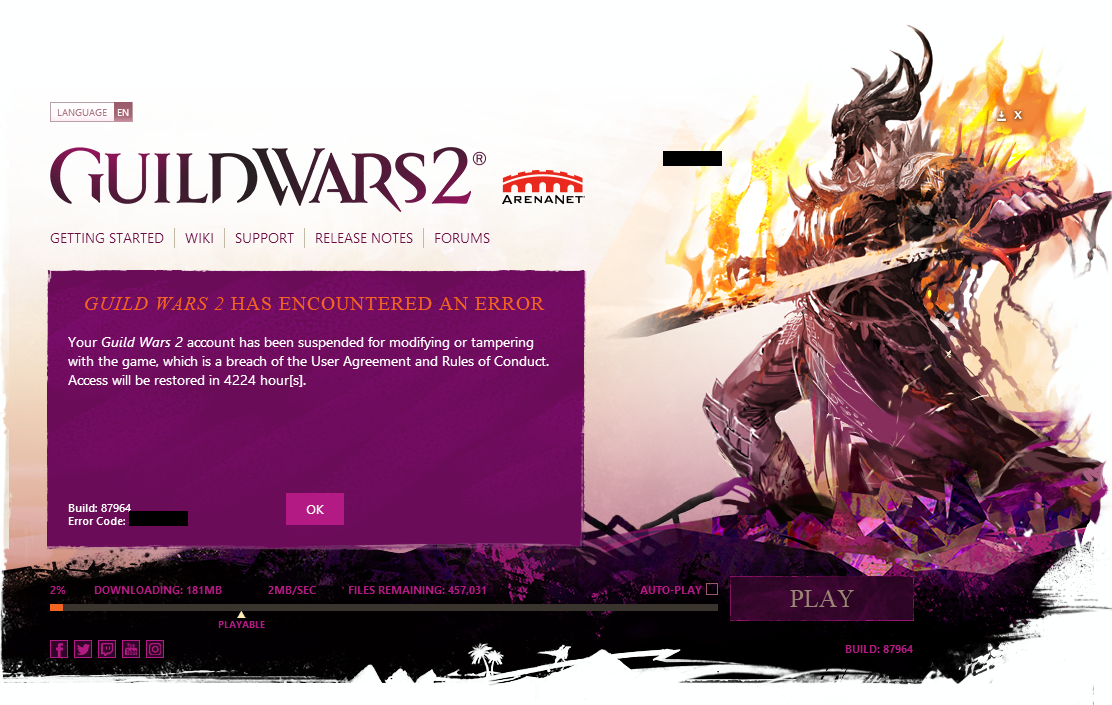 Guild Wars 2' Caught Using Spyware to Catch Cheaters - VICE