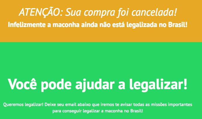 1524079311937 Captura de Tela 2018 04 17 as 181441 Caí no golpe da venda de maconha online no Brasil