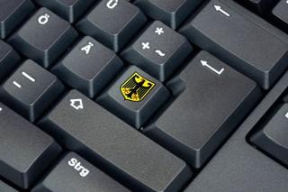 Tastatur mit Adlerwappen