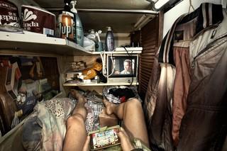 So eng ist es in den winzigen Wohnungen in Hongkong