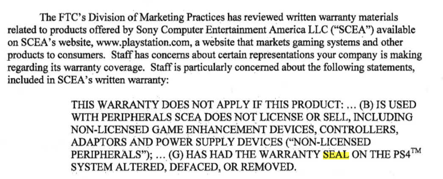 FTC Gives Sony, Microsoft, and Nintendo 30 Days to Get Rid of