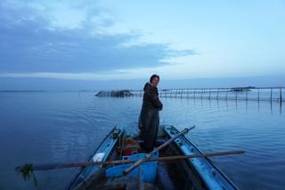 Pesca alle moeche pescatori