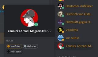 Das Profil des Nutzers