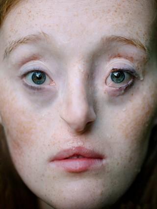 David Uzochukwu Ilka meisje met blauwe ogen