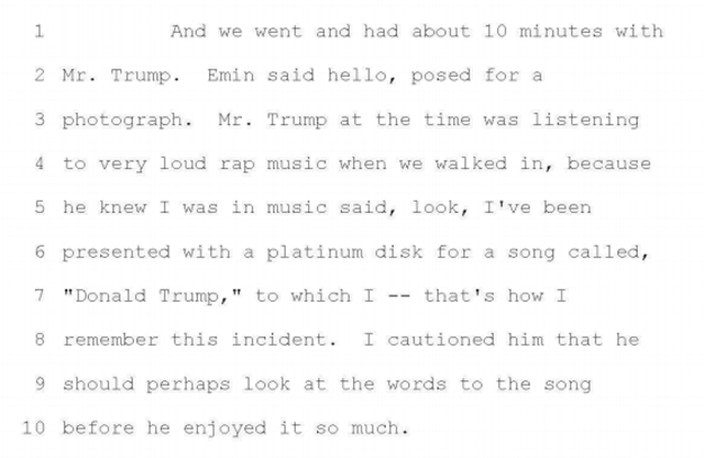 Donald Trump Apparently Likes Listening to Rap Songs About Donald