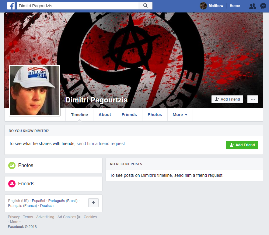 People Are Making Fake Facebook Profiles Of The Santa Fe Shooter To
