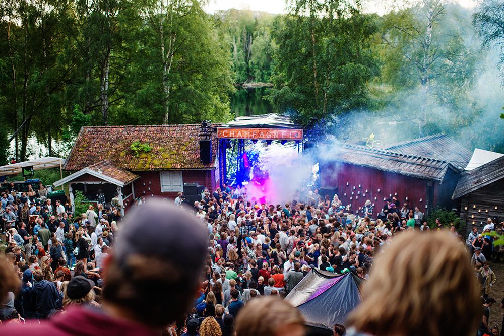 Legendarisk musikfestival hyllas